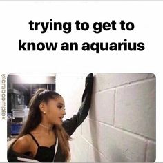 24 Aquarius Memes That Are Way, Way Too Real - astrology Aquarius Funny, Astrology Aquarius, Aquarius Traits, Aquarius Quotes, Aquarius Woman, Zodiac Signs Horoscope, Zodiac Memes, Zodiac Star Signs, My Zodiac Sign
