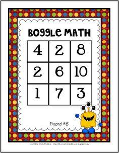 $ Boggle Math
