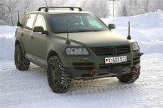 VW Touareg Military vehicle