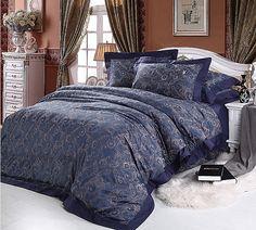Satin bamboo cotton jacquard bedding