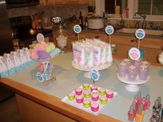 spa party ideas for girls birthday | Host A Spring Fling Spa Party with Guest, Not Just A Mommy ...