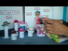 How to Make Barbie Doll Hats - Doll Crafts - YouTube