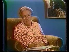 """Prayer - Corrie Ten Boom - Please, take some quiet time and listen...you will be blessed.  She has suffered so much and has so much to bless us with from His Word.    I know you will say, """"I am so glad I listened to her speak!""""    JO /""""M"""" Words and the Christian Woman"""