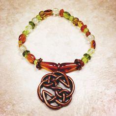 Celtic Inspired Charm Bracelet on Etsy, $14.00