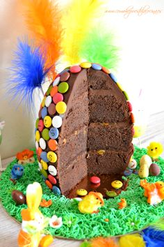 Easter Birthday Party, Fantasy Cake, Easter 2020, Cake Shop, Easter Recipes, Fondant Cakes, Cakes And More, I Love Food, Cake Cookies