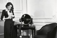 Kristen Stewart for Chanel Paris in Rome ad campaign [Photo: Karl Lagerfeld]