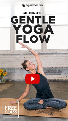 Gentle yoga is a great way to slow down, connect with your body, and calm your mind. Enjoy this juicy gentle yoga flow for all levels of practictioners. flow All Levels Gentle Yoga Flow to Decompress, Destress, and Feel Good (Free Class) Fitness Workouts, Yoga Fitness, Diy Yoga, Sanftes Yoga, Vinyasa Yoga, Yoga Beginners, Ashtanga Yoga, Kundalini Yoga, Iyengar Yoga