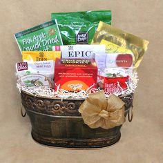 Paleo Delight Gift Basket - a tasty variety of paleo treats! #paleo #gifts