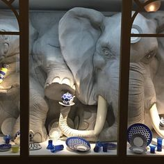 Elephant in a china shop: a sneak peak inside Hermès' immersive new exhibition 'Wanderland' at London's Saatchi Gallery. (Wallpaper Magazine)