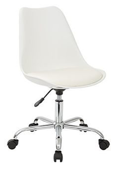 Ave Six Emerson Student Office Chair, White