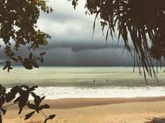 Storm rolling in over Ao Nang. Glorious. by brock007