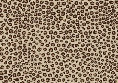 Love this leopard print rug.