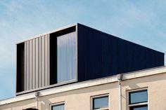 BB/Architects - gedreven architectenbureau gevestigd in Wageningen Loft Dormer, Dormer Roof, Dormer Windows, Bungalow Extensions, House Extensions, Loft Conversion Roof, Roof Design, House Design, Zinc Roof
