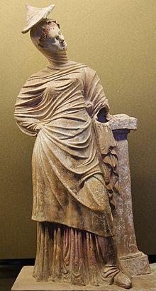 Tanagra (statuette) — Wikipédia