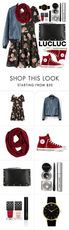 """Lucluc"" by oshint ❤ liked on Polyvore featuring moda, prAna, Converse, Marc by Marc Jacobs, Bobbi Brown Cosmetics, Gucci, Larsson & Jennings e lucluc"