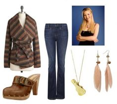 Old School TV Style: Phoebe from Friends - College Fashion