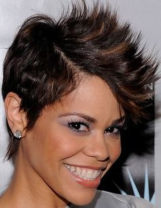 Mohawk Hairstyles for Black Women; Different Mohawk Styles - Black Women Hairstyles Pictures