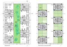 Image 15 of 15 from gallery of Urban Block Competition Winners / CIE and SVESMI. The Block, Delft, Residential Architecture, Contemporary Architecture, Rotterdam, Masterplan, Urban Planning, Planer, Competition