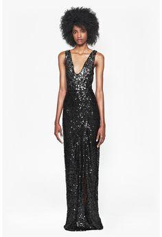 Cosmic Sparkle Maxi Dress