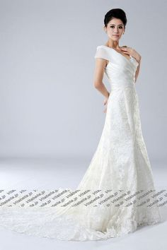 #Wedding #Dress, Wedding #Gown, #Bridal Gown, V-neck Wedding Dress, Elegant Wedding Dress