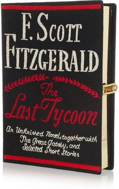 The Last Tycoon Embroidered Clutch - Lyst