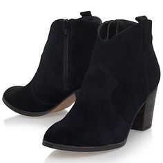 Buy Miss KG Sade Block Heel Ankle Boots Online at johnlewis.com