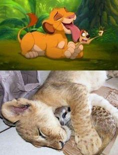 aaah disney cuddles
