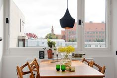 Irresistible design and cozy atmosphere in Swedish flat