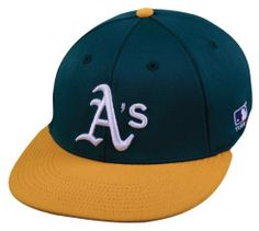 "MLB Bamboo FLAT Flex-Fit Oakland ATHLETICS A's Lg/XL Home Green/Gold Hat Cap Stretch Fitted Heavy . $22.99. We are your team supplier with team qtys available. Another popular seller with retail of over $31.99. Great for all leagues.        (C)Mid to Low Profile     6 panel     Structured     100% Polyester with Bamboo Charcoal Attributes     Rounded Flat Visor - Can be Flat or Curved     Proflex     3D Replica Logo     TEAM MLB Logo on Left Temple  S/M Fits size 6 1/2"" t..."