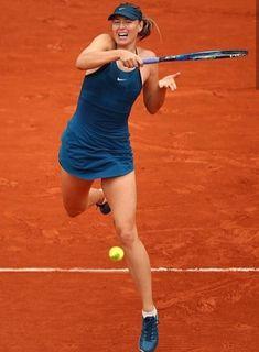 Maria Sharapova. Roland Garros 2018