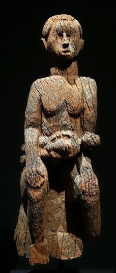 """The Metropolitan Museum exhibition """"Warriors and Mothers: Epic Mbembe Art"""" displays African sculptures that go against the tide of most work from that continent."""