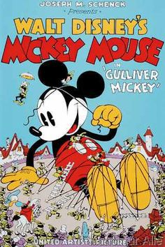 Walt Disney - Gulliver Mickey