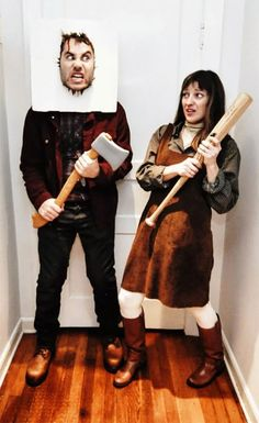 the shining couple cosplay - The Shining Halloween