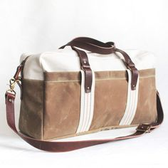Weekend Duffel Sage, now featured on Fab.