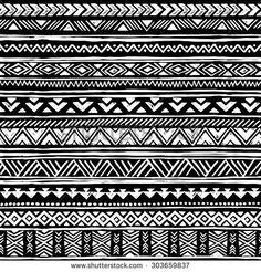 Find Black White Tribal Navajo Seamless Pattern stock images in HD and millions of other royalty-free stock photos, illustrations and vectors in the Shutterstock collection. Thousands of new, high-quality pictures added every day. Maori Patterns, Doodle Patterns, Ethnic Patterns, Zentangle Patterns, Arte Tribal, Tribal Art, Tribal Pattern Tattoos, Maori Tattoo Designs, African Design