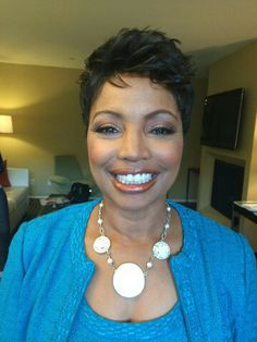The Beautiful Judge Lynn Toler from the show Divorce Court.  Makeup by Val...Me!