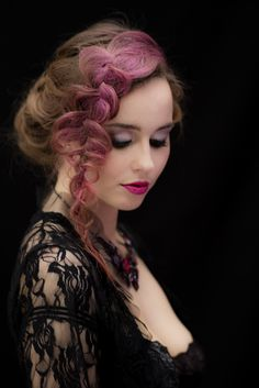 Make Up, Hairstyle, Fashion, Hair Job, Moda, Hair Style, Fashion Styles, Makeup, Hairdos