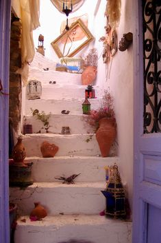 greek island house magic door A Whole New World, Maya, Entrance, Greece, Doors, Island, Inspiration, Simple, House