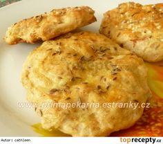 Zelné chlebové placky Baked Potato, Dairy, Potatoes, Cheese, Meat, Chicken, Baking, Program, Ethnic Recipes