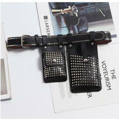 Leather Belt Buckle, Belt Buckles, Leather Bag, Black Lingerie, Lingerie Set, Goth Women, Big Bags, Inevitable, Belts For Women