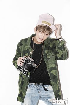 B1A4 - Jinyoung - @ Star1 Magazine September Issue '14
