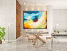 Abstract Painting on Canvas - Extra Large Wall Art, Contemporary Art, Original Oversize Painting Abstract Canvas Art, Acrylic Painting Canvas, Modern Wall Art, Contemporary Art, Extra Large Wall Art, Large Painting, Acrylic Colors, Textured Walls, Bedroom Wall