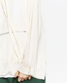 Immagine 6 di FELPA TASCHINI CERNIERA di Zara