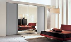 10 Rooms Featuring Sliding-Mirror Closet Doors