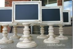 Chalkboard stand...simple