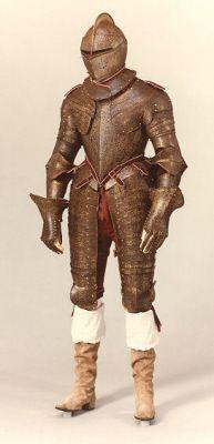 3rd Earl of Southampton armor, c. 1600