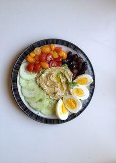 Israeli inspired breakfast