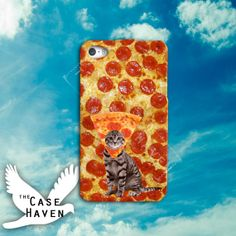 Pizza Cat tumblr funny hilarious cuteCustom iPhone by TheCaseHaven, $14.99