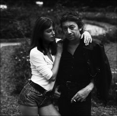 Jane and Serge, french icons.