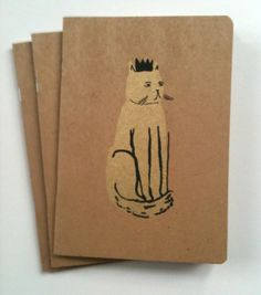 Golden Cat Notebook